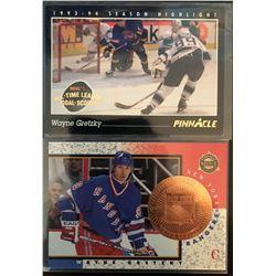 1993-94 Pinnacle Wayne Gretzky Card #512, And