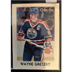 1987-88 O-Pee-Chee Leaders Mini Wayne Gretzky Poor