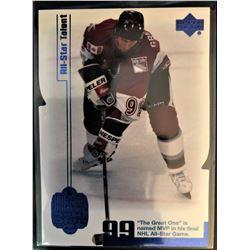 1999 Upper Deck Wayne Gretzky Living Legend Card #75