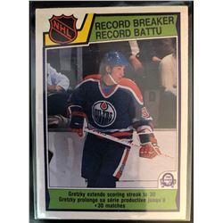 1983-84 O-Pee-Chee Wayne Gretzky Card #212