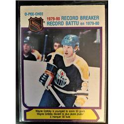 1980-81 O-Pee-Chee Record Breaker Wayne Gretzky #3