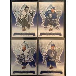 2017 Toronto Maple Leafs Centennial 4 Card Lot