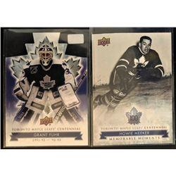 2017 Toronto Maple Leafs Centennial 2 Card Lot