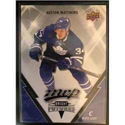 2017-18 Upper Deck MVP Auston Matthews Card #BF-1
