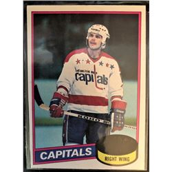 1980-81 Topps Rookie Card Mike Gartner Card #195