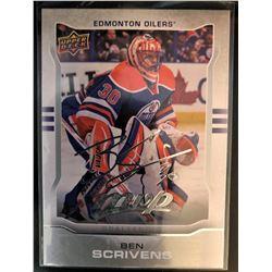 2014-15 MVP Silver Script Ben Scrivens Card #1