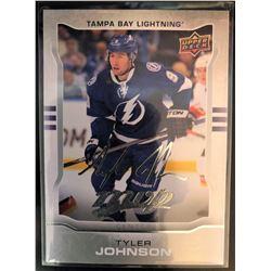 2014-15 MVP Silver Script Tyler Johnson Card #125
