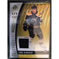 2017-18 SP Game Used Rookie Jersey Jake Debrusk