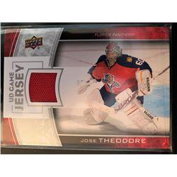 2013-14 Upper Deck Game Jersey Jose Theodore Series #1