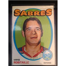 1971-72 Topps Mike Robitaille Card #8
