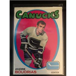 1971-72 Topps Andre Boudrias Card #12