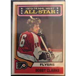1974-75 Topps Bobby Clarke Card