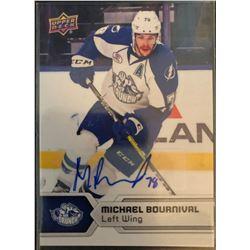 2017-18 Upper Deck AHL Autographs Michael Bournival