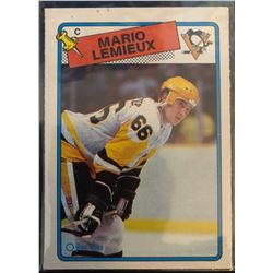 1988-89 O-Pee-Chee Mario Lemieux Card #1