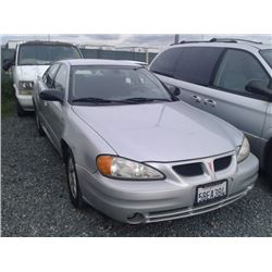 PONTIAC GRAND AM 2003 T-DONATION
