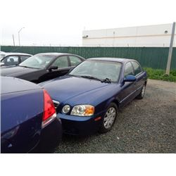 KIA OPTIMA 2004 L/S-SALV-DON