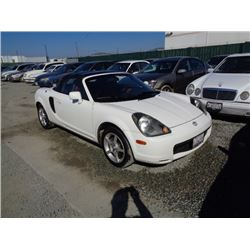 TOYOTA MR2 2000 T-DONATION
