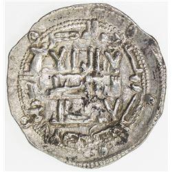 UMAYYAD OF SPAIN: al-Hakam I, 796-822, AR dirham, al-Andalus, AH203. EF