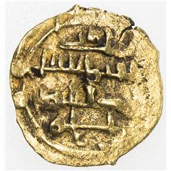 AMIRID OF VALENCIA: 'Abd al-'Aziz al-Mansur, 1021-1061, AV fractional dinar (0.52g), NM, ND. EF