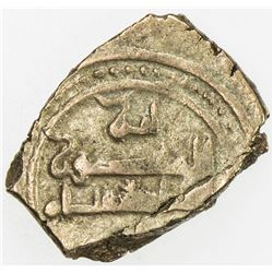 AMIRID OF VALENCIA: 'Abd al-'Aziz al-Mansur, 1021-1061, AV fractional dinar (1.54g), NM, ND. VF