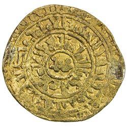 EAST AFRICA SEA SALVAGE: FATIMID: al-Zahir, 1021-1036, AV dinar (3.56g), Misr, AH422. F