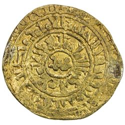 EAST AFRICA SEA SALVAGE: FATIMID: al-Zahir, 1021-1036, AV dinar (3.56g), Misr, AH422. F