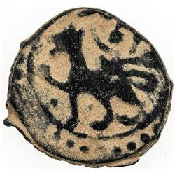 OTTOMAN EMPIRE: Mehmet II, 1451-1481, AE mangir, Amasya, ND