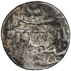 OTTOMAN EMPIRE: Murad III, 1574-1595, AR shahi (5.02g), Basra, AH983. F-VF