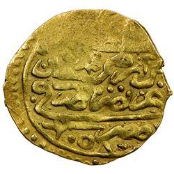 OTTOMAN EMPIRE: Mehmet IV, 1648-1687, AV sultani (3.32g), Misr, AH1058. EF