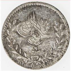 TURKEY: Abdul Mejid, 1839-1861, AR 20 para, AH1255 year 9. AU