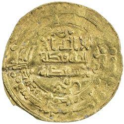 SAMANIDS: Nasr II, 914-943, AV dinar (3.67g), al-Muhammadiya, AH318. VF
