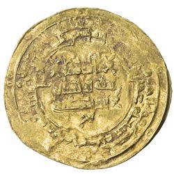 SAMANID: Nasr II, 914-943, AV dinar (4.56g), al-Muhammadiya, AH319. VF