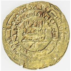 SAMANID: Nasr II, 914-943, AV dinar (3.30g), al-Muhammadiya, AH321. AU