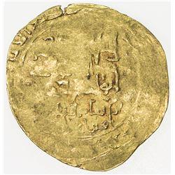 GHORID: Ghiyath al-Din Muhammad, 1163-1203, AV dinar (3.99g), MM, DM. VF