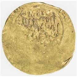 GHORID: Mu'izz al-Din Muhammad, 1171-1206, AV dinar (5.82g), MM, DM. VF