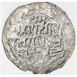 SHAHS OF BADAKHSHAN: 'Alishah II, 1310s, AR dirham, Badakhshan, AH71x. VF
