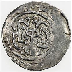 SHAHS OF BADAKHSHAN: Sultan Yahya, 1321, AR dirham, Badakhshan, AH715. VF