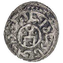 GOLDEN HORDE: Toda Mangu, 1280-1287, AR dirham, Qrim, AH683. EF
