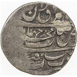 HOTAKI: Mahmud Shah, 1722-1724, AR rupi (11.32g), Qandahar, AH1135. VF