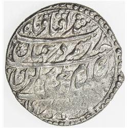 ZAND: Karim Khan, 1753-1779, AR abbasi, Shiraz, AH1166. VF-EF
