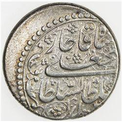 QAJAR: Fath 'Ali Shah, 1797-1834, AR riyal, Tabriz, AH1222. VF-EF