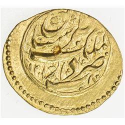 QAJAR: Nasir al-Din Shah, 1848-1896, AV toman (3.41g), Tabaristan, AH1280. EF