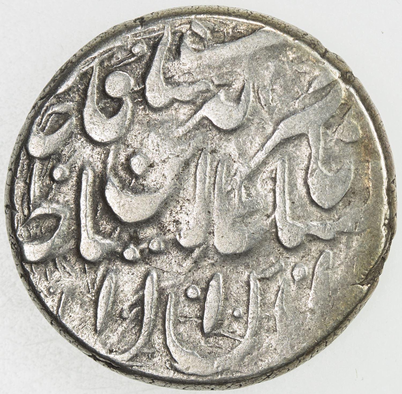 QAJAR: Nasir al-Din Shah, 1848-1896, AR qiran (4 97g), Herat, AH1279  VF