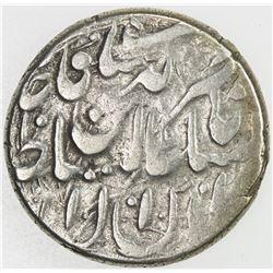 QAJAR: Nasir al-Din Shah, 1848-1896, AR qiran (4.97g), Herat, AH1279. VF