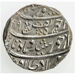 DURRANI: Taimur Shah, 1772-1793, AR rupee (11.50g), Peshawar, AH1199 year 12. EF-AU