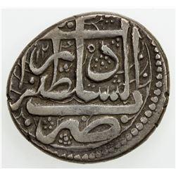 DURRANI: Kamran Shah, 1829-1842, AR rupee (10.16g), Herat, AH1245. VF