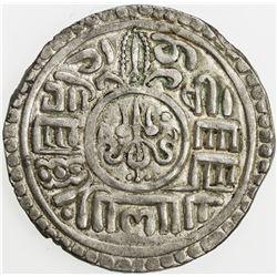 NEPAL: BHATGAON: Bhupatindra Malla, 1696-1722, AR mohar (5.47g), NS816 (1696). EF