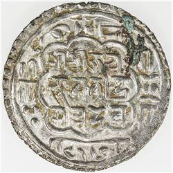 NEPAL: BHATGAON: Bhupatindra Malla, 1696-1722, AR mohar, NS816 (1696), KM-87, EF
