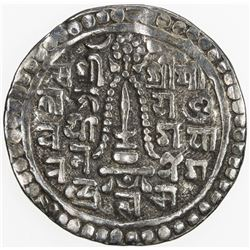 NEPAL: PATAN: Yoga Narendra Malla, 1685-1705, AR mohar, NS820 (1700). VF
