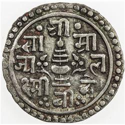NEPAL: Rajendra Vikrama, 1816-1847, AR 1/4 mohar, SE1759 (1837)